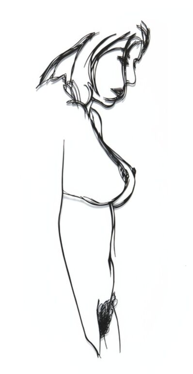 Tom Wesselmann, 'Steel Drawing Edition/Standing Nude', 1985