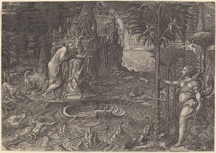 Giorgio Ghisi, 'Allegory of Life', 1561