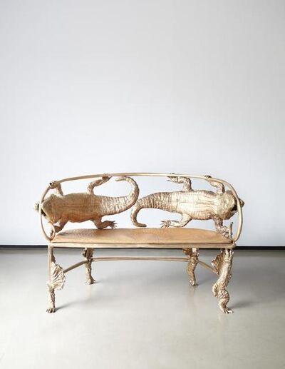 François-Xavier Lalanne, 'Crocodile Banquette', 2006