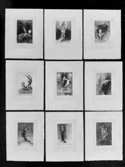 Félicien Rops, '10 Eaux-fortes pour les Diaboliques', 1886