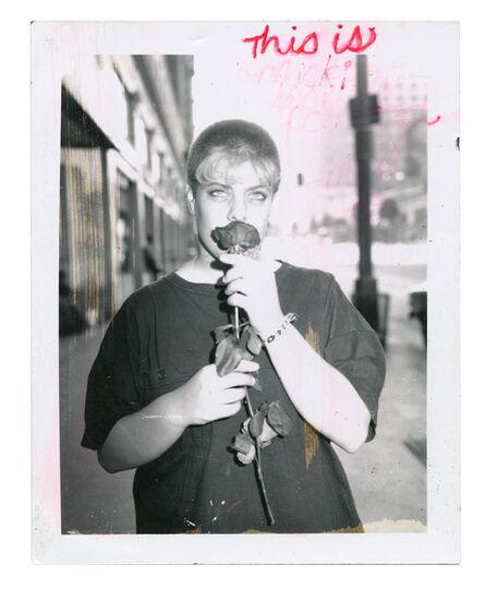 Jim Goldberg, 'Macki with Red Rose', 1989