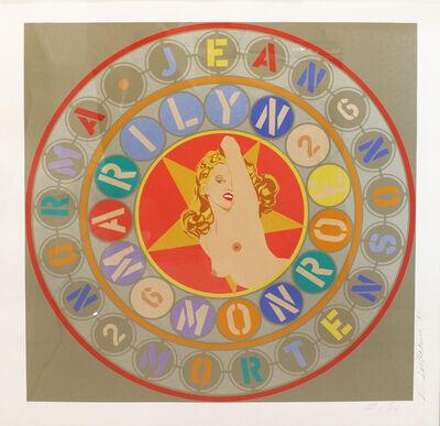Robert Indiana, 'Metamorphosis of Norma Jean (Marilyn Monroe)', 1996