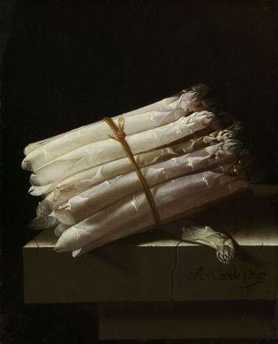 Adriaen Coorte, 'Still Life with Asparagus', 1697
