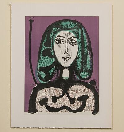 Pablo Picasso, 'THE WOMAN WITH THE FISHNET (LA FEMME A LA RESILLE)', 1956