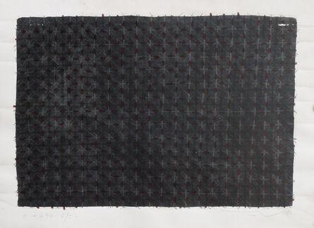 Ding Yi 丁乙, 'Appearance of Crosses 94-B75 ', 1994