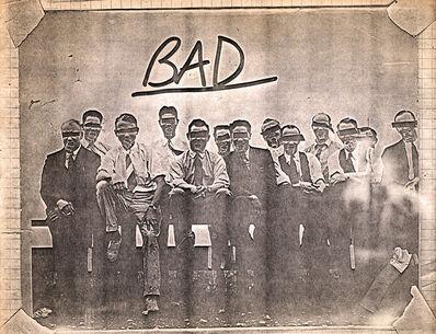 Jean-Michel Basquiat, 'Basquiat (untitled) 'Bad' xerox (Basquiat Man Made) ', 1980