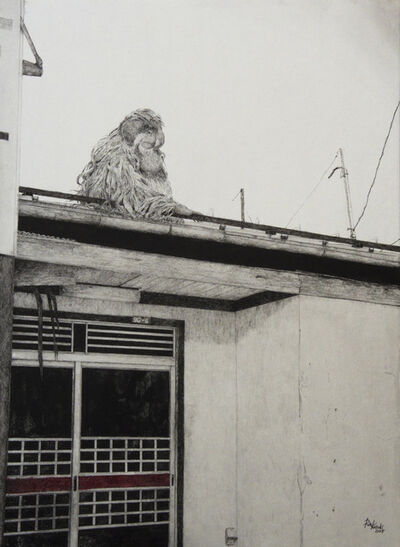 Rin Kuroki, 'HAZAMA-20 Orangutan', 2018