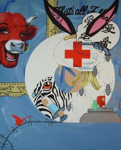 Myriam Baudin, 'Vache qui rit et Mercurochrome Generation', 2013