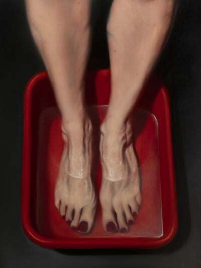 Ken Currie, 'Woman Bathing', 2020