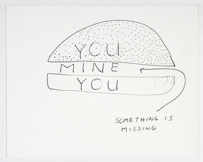 Michael Smith (American, b. 1951), 'You Mine You', 2003