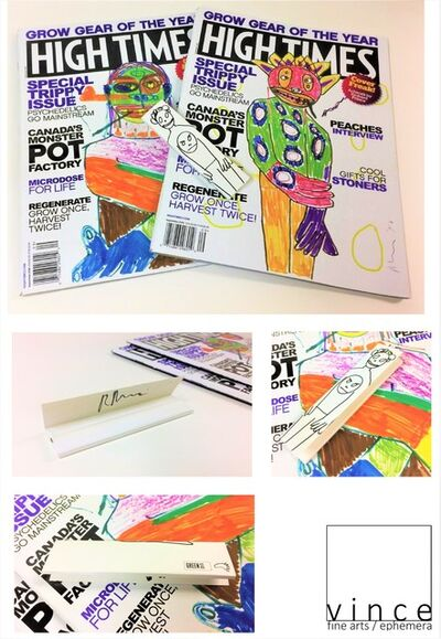 """Richard Prince, 'THREE PIECE SET- (2) Richard Prince 2016 High Times Magazines, (1) Rolling Papers, """"High Times Covers"""", Curated by Richard Prince, BLUM & POE LA,', 2016"""