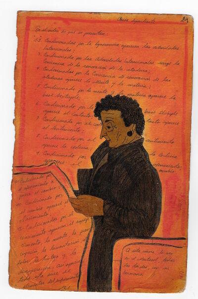 Valentino Cortazar, 'Diario 25', 1978