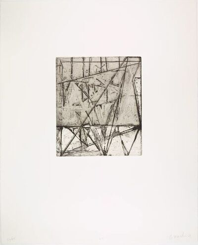 Brice Marden, 'Etchings to Rexroth 25', 1986