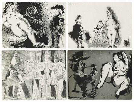 Pablo Picasso, 'Fernando de Rojas: La Célestine', 1971