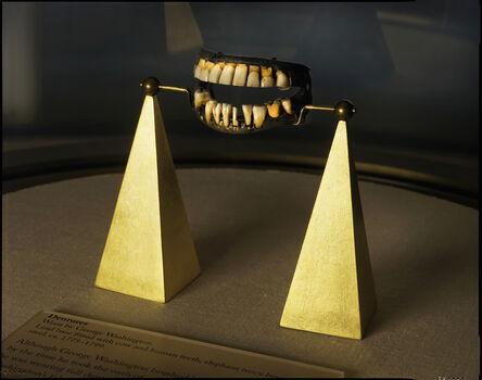 Rob Kinmonth, 'George Washington's dentures, Mount Vernon, Virginia ', 2016