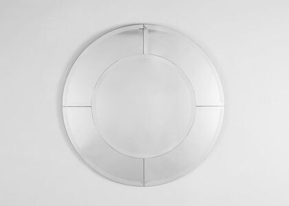 Karl Springer, 'Saturn Pair of Circular Wall Mirrors', United States-circa 1985