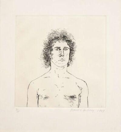 David Hockney, 'Portrait of a Young Man ( Wayne Sleep)', 1969