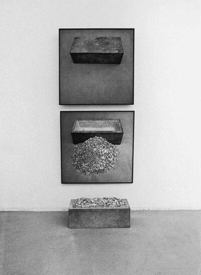 Timm Ulrichs, 'Trog, sich selbst beinhaltend (Trough, containing itself)', 1969