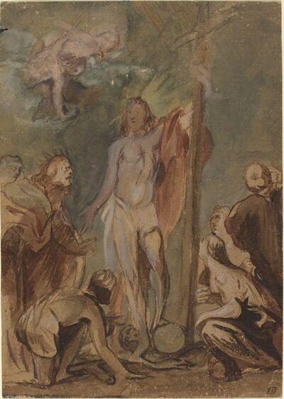 Jan Boeckhorst, 'The Risen Christ Surrounded by Saints', ca. 1660