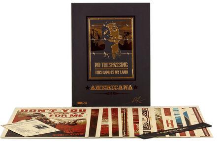 Shepard Fairey, ''Americana' Box Set', 2012
