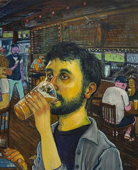 Stipan Tadić, 'Self Portrait When Drinking', 2021