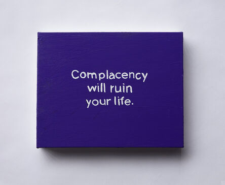 Lisa Levy, 'The Thoughts In My Head #92 (Complacency...)', 2020