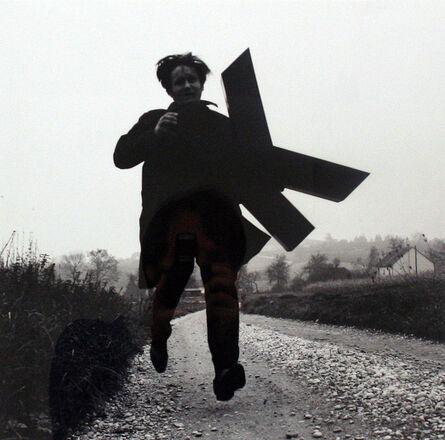 Josef Bauer, 'Buchstabenläufer', 1970-1976
