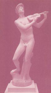 McDermott & McGough, 'Orpheus with violin, 1915', 1991