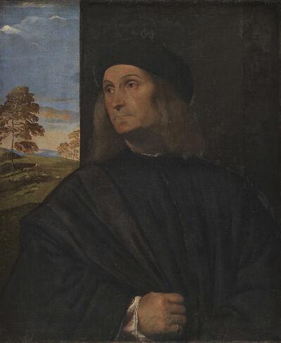 Titian, 'Portrait of the Venetian Painter Giovanni Bellini', 1511-1512