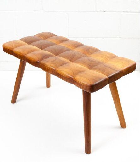 Joy Charbonneau, 'Tufted Wood Bench', 2015