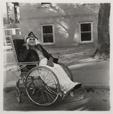 Diane Arbus, 'Masked Woman in a Wheelchair, Pennsylvania', 1970