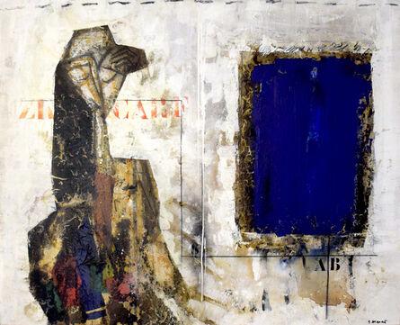 James Coignard, 'Femme et bleu', 2005