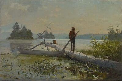 Winslow Homer, 'The Trapper', 1870