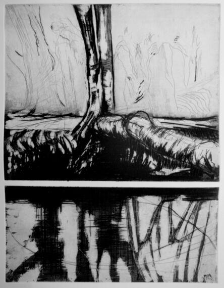 Cédric le Corf, 'Le Vexin III, hommage à Corot', 2018