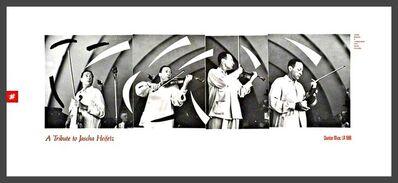 David Hockney, 'Tribute to violinist Jascha Heifetz ', 1988