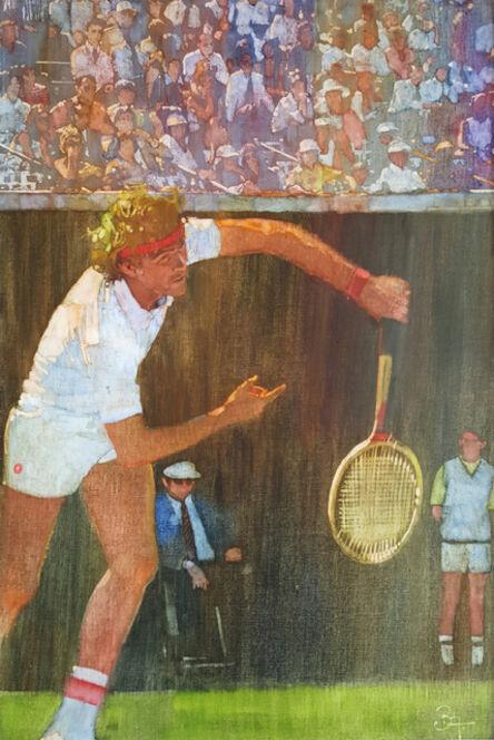 Bernard (Bernie) Fuchs, 'Tennis Player,  Jimmy Connors ', ca. 1980