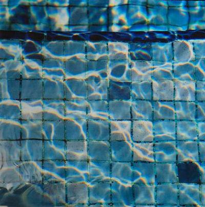 Barbara Strasen, 'Circuitboard Poolwater', 2018