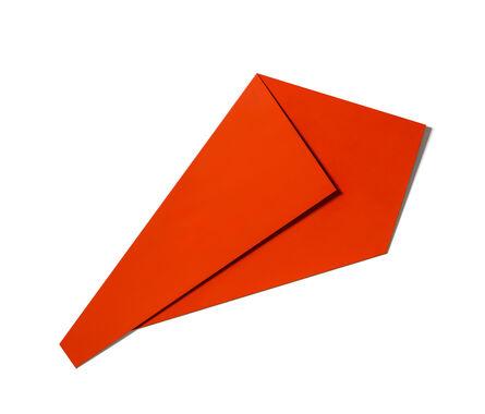 Sébastien de Ganay, 'XL Folded Flat Light Red 02', 2019