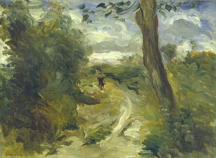 Pierre-Auguste Renoir, 'Landscape between Storms', 1874/1875