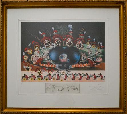 Salvador Dalí, 'Les Diners de Gala, Les montres molles', 1971