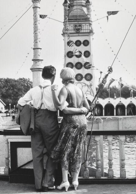 Walker Evans, 'Couple at Coney Island', 1928