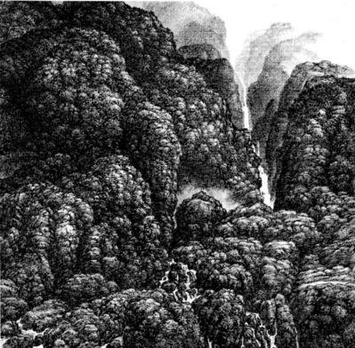 Hsia I-fu, 'Waterfalls', 2001