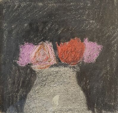 Robert Kulicke, 'Red and Pink Roses in a White Vase', n.d.
