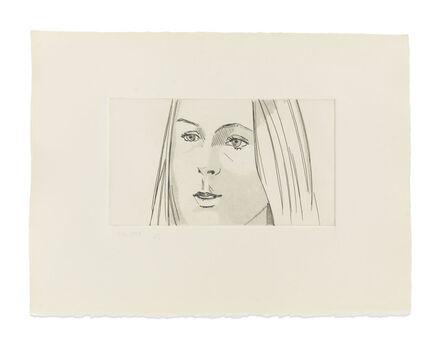 Alex Katz, 'June Ekman's Class: Harmony', 1972