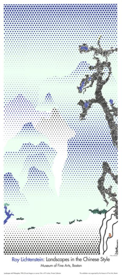 Roy Lichtenstein, 'Landscape with Philosopher', 1996