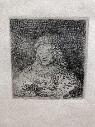 Rembrandt van Rijn, 'The Card Player', 1998