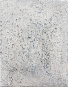 Wayne Adams, ' Untitled (white distress 3)', 2016