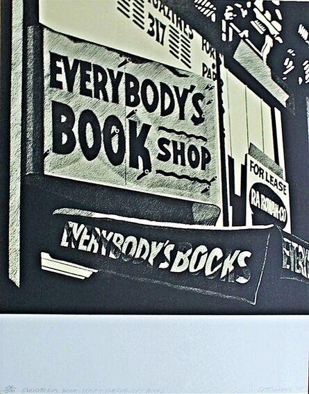 Robert Cottingham, 'Everybody's Bookshop, Everybody's Books', 1975