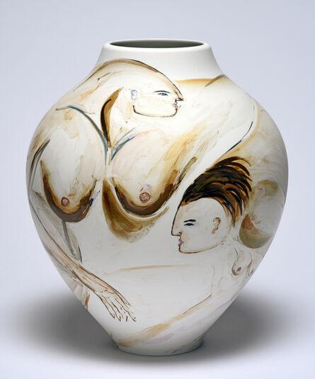 Zoë Paul, 'Brushing cheeks (Vase SR 22)', 2019