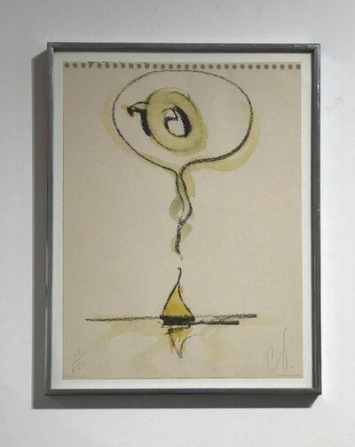 Claes Oldenburg, 'Sailboat Thinking of Q', 1976